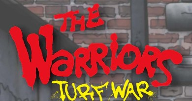 Logotipo del juego The Warriors Turf war