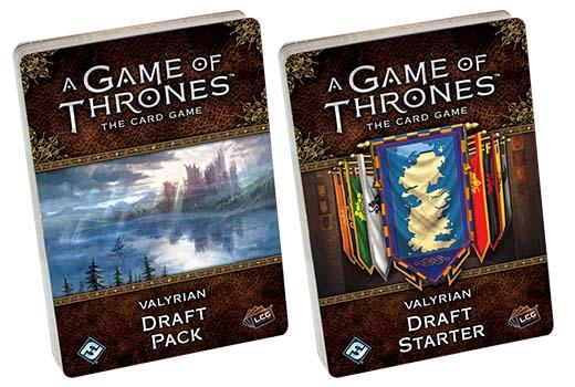 Valyrian Draft para Juego de tronos LCG