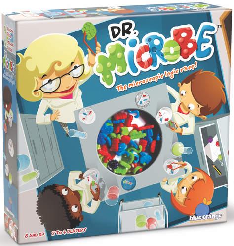 Portada de Dr. Microbe de Blue Orange Games