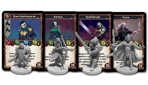 Miniaturas de Dungeon Alliance