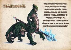Uno de los habitantes del universo del juego de rol Kyrie