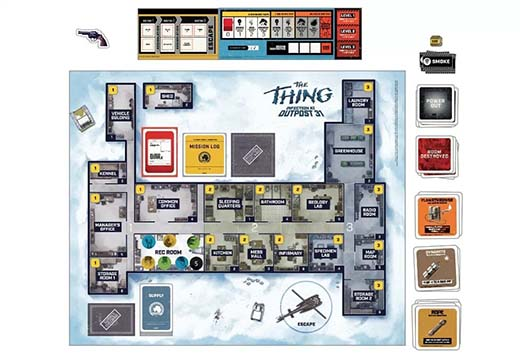 Componentes de The Thing Infection outpost 31