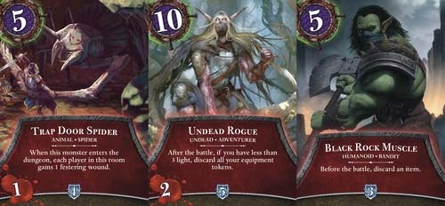 Cartas de Thunderstone Quest