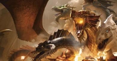 Ilustración de Tiamat de la quinta edición de Dungeons and Dragons