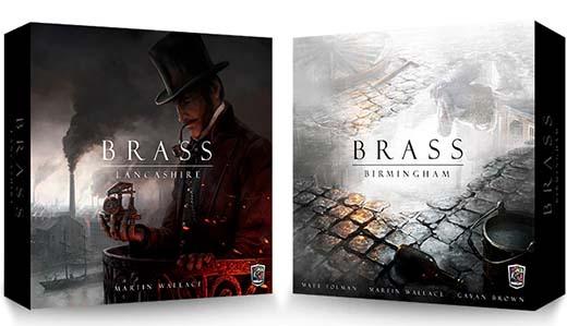 Portadas de Brass Lancashire y Brass Birmingham
