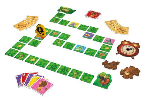 Componentes del juego de memoria para niños Leo