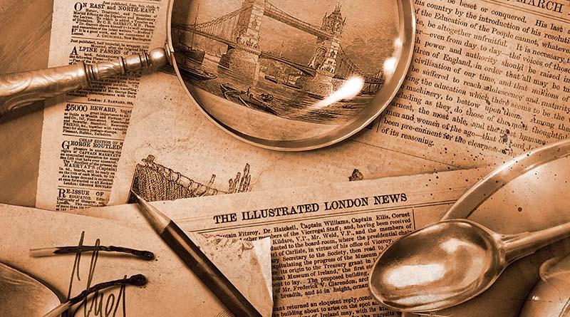 Detalle de la nueva portada de Sherlock holmes detective Asesor