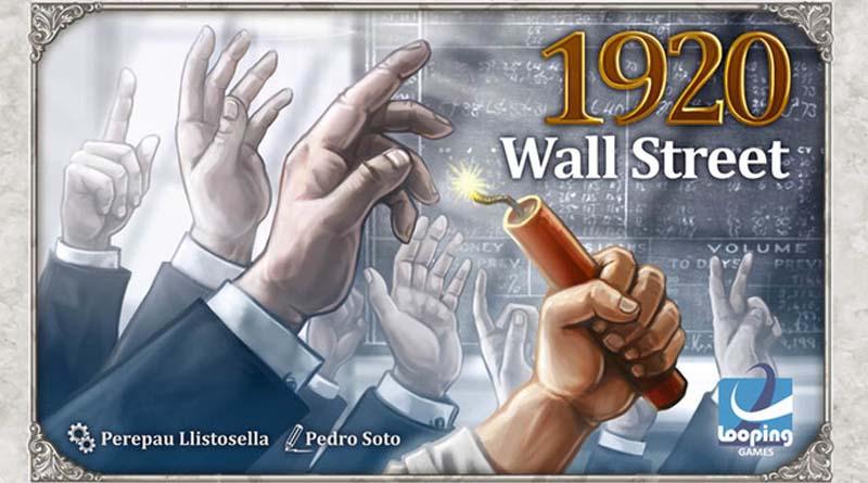 Portada de 1920 Wall Street