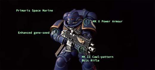 caracteristicas de los primaris space marines