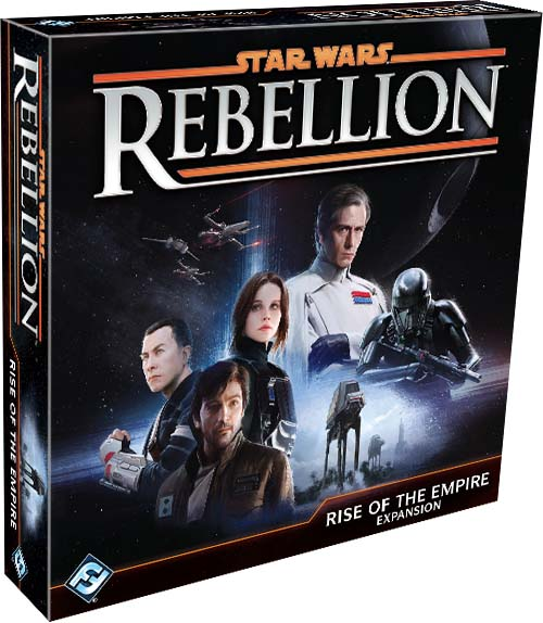 Portada de Star Wars Rebellion: Rise of the Empire