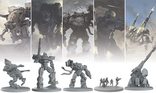 Miniaturas de farsight