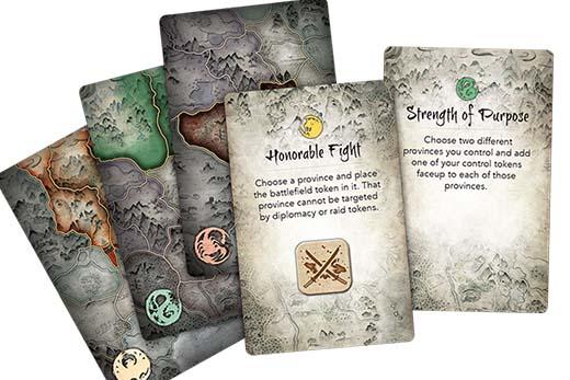 Cartas de battle for rokugan