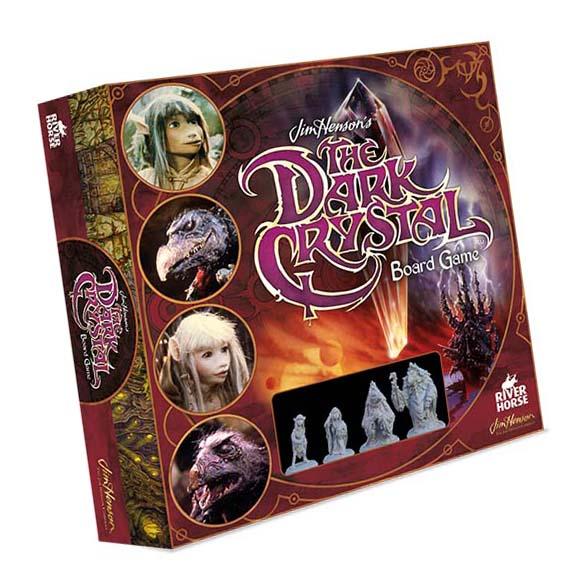 Portada del juego de mesa de cristal oscuro