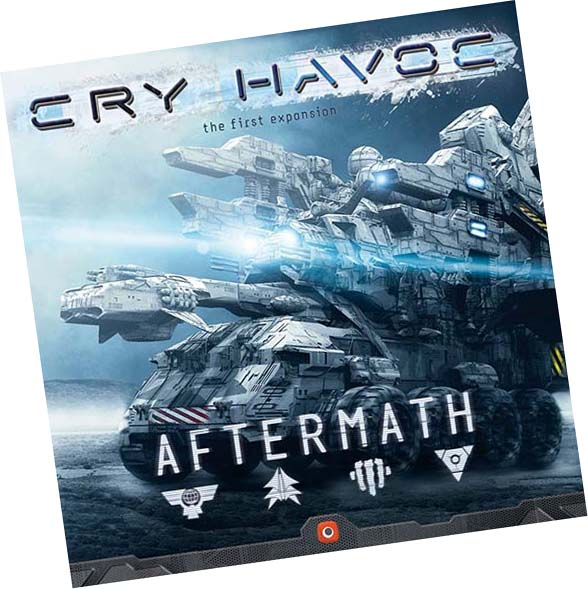 Portada de Cry Havoc Aftermath