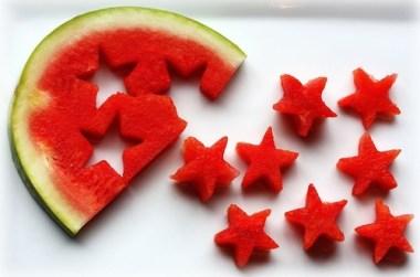 estrellas de sandia