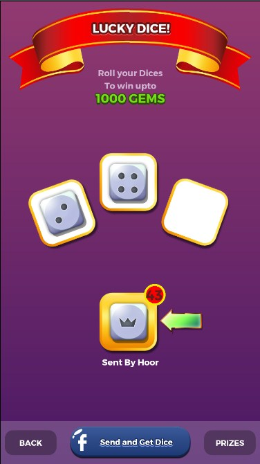 Check i use my two dices in ludo star download