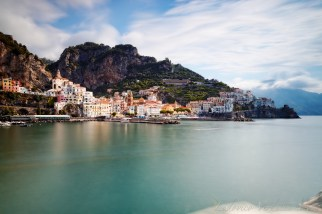 Amalfi from the dock