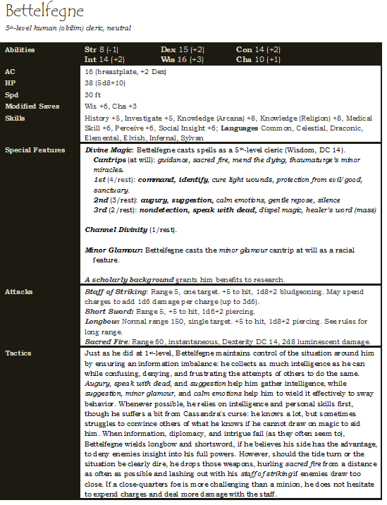 Bettelfegne 5 -- updated