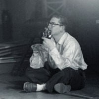 Ludwig with Camera 1956