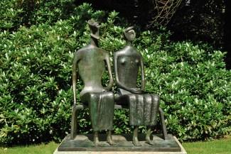 Henry Moore - Koning en Koningin