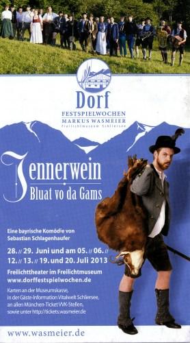 Freilichttheater im Freilichtmuseum von Markus Wasmeier 2012/2013