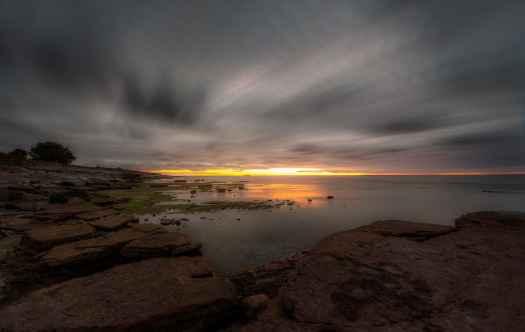 Öland solnedgång från Byxelkrok - Ludwig Sörmlind