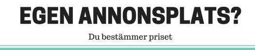 Tjäna pengar på din blogg genom att sälja annonsplats - Ludwig Sörmlind