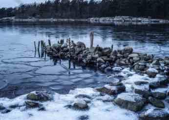 Kofsa friluftsområde - Isig stenpir - Ludwig Sörmlind