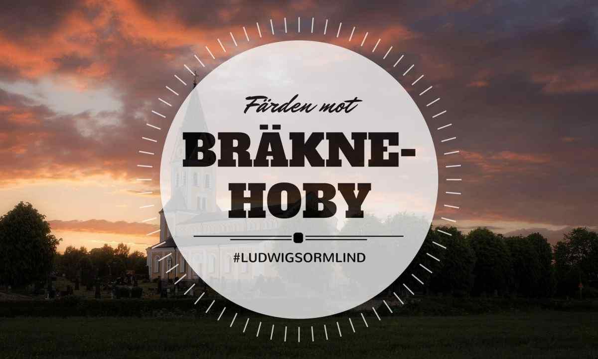 Färden mot Bräkne-Hoby