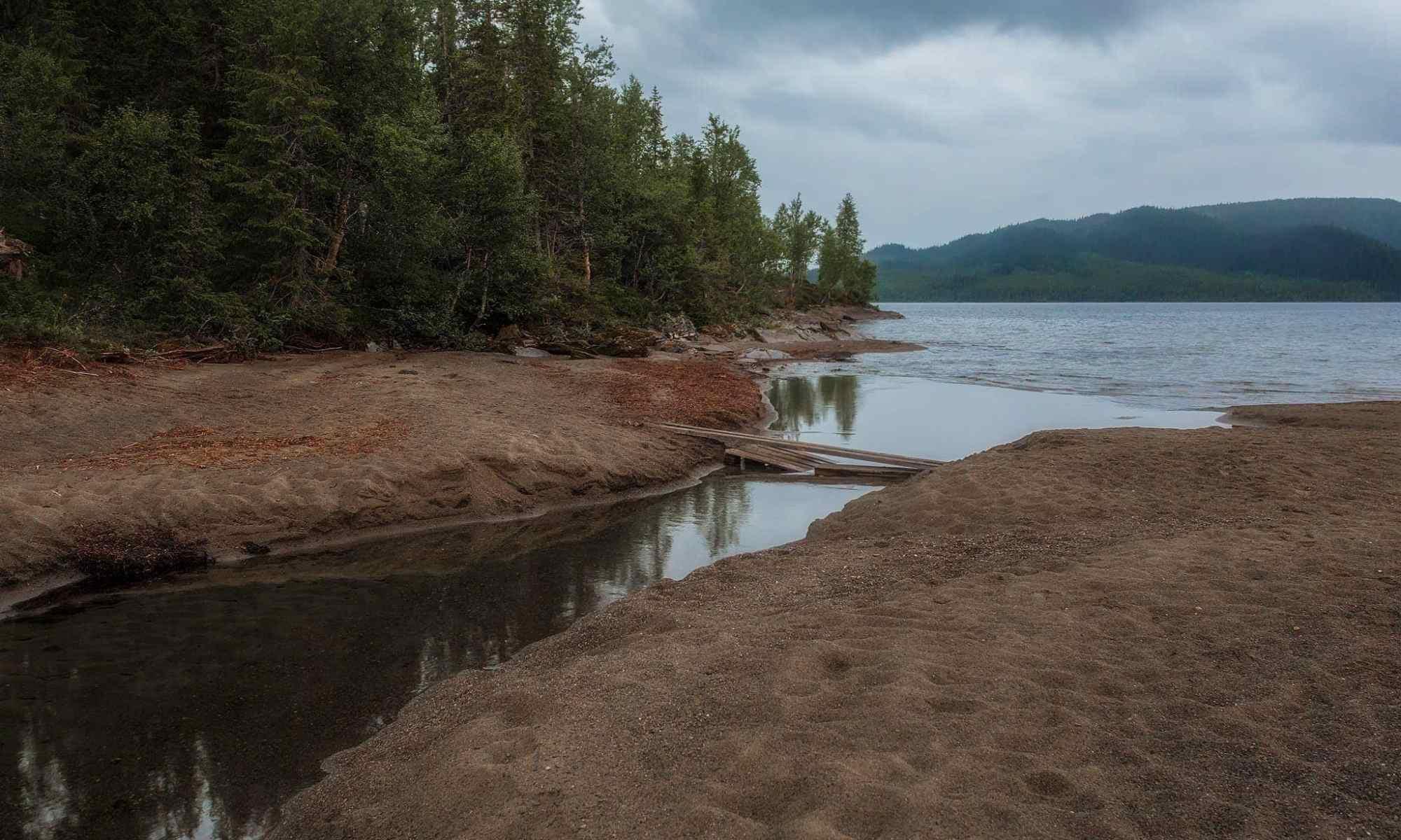 Ankarvattnet innan regnet - Ludwig Sörmlind
