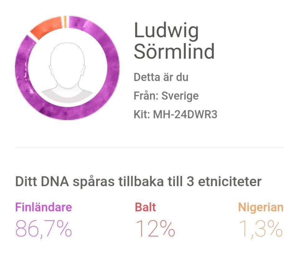 Den finländske nigerianen - Ludwig Sörmlind