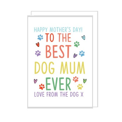 dog mum card
