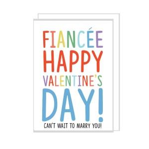 Fiancee Valentines Card