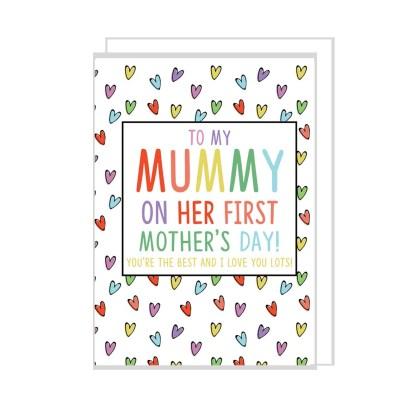 first mummy day card