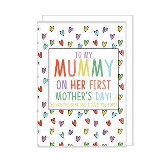 first mummy day card