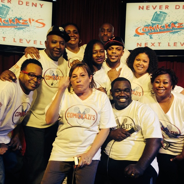ComicKazi's - Rodney Perry's Never Deny Improv April 2014