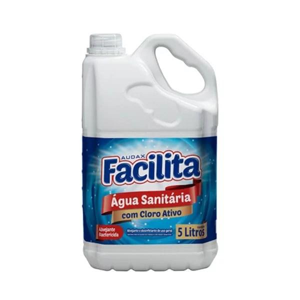 Água Sanitária - Galão de 5 Litros - Facilita