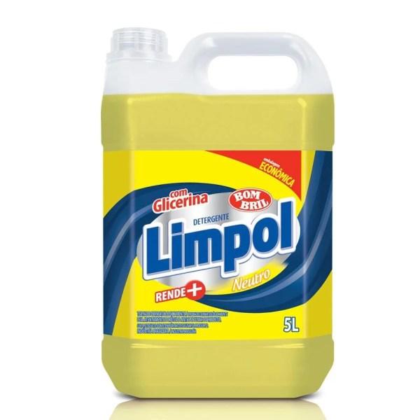 Detergente Neutro - Galão de 5 Litros - Limpol