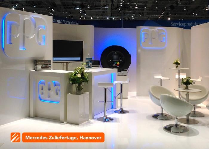 Messebau-PPG-Mercedes-Zuliefertage-Hannover