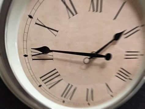 Prévoir environ 15 minutes de plus pour être à l'heure.