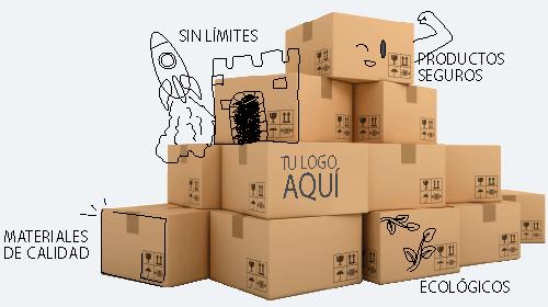 Banner LUFEX Cajas de Carton