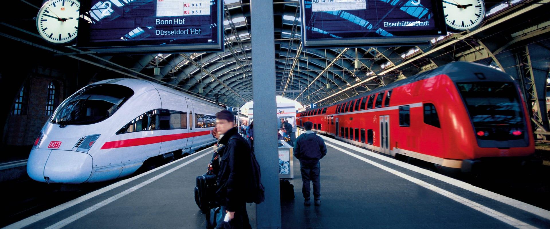 Os 5 mais famosos trens de alta velocidade na Europa