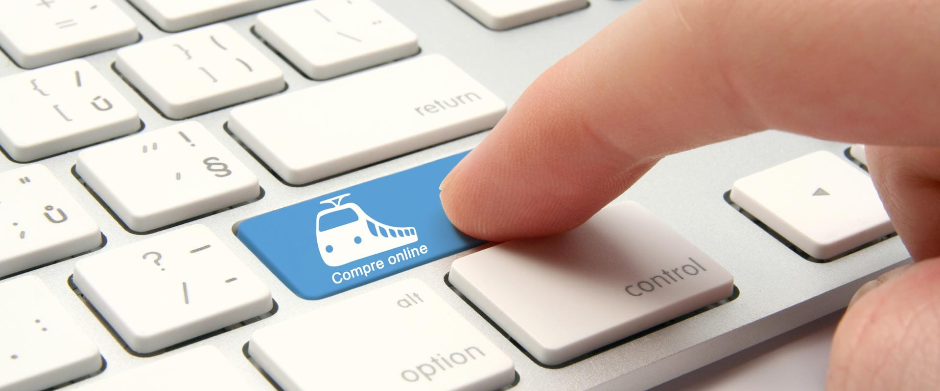 Como comprar online passagem de trem?