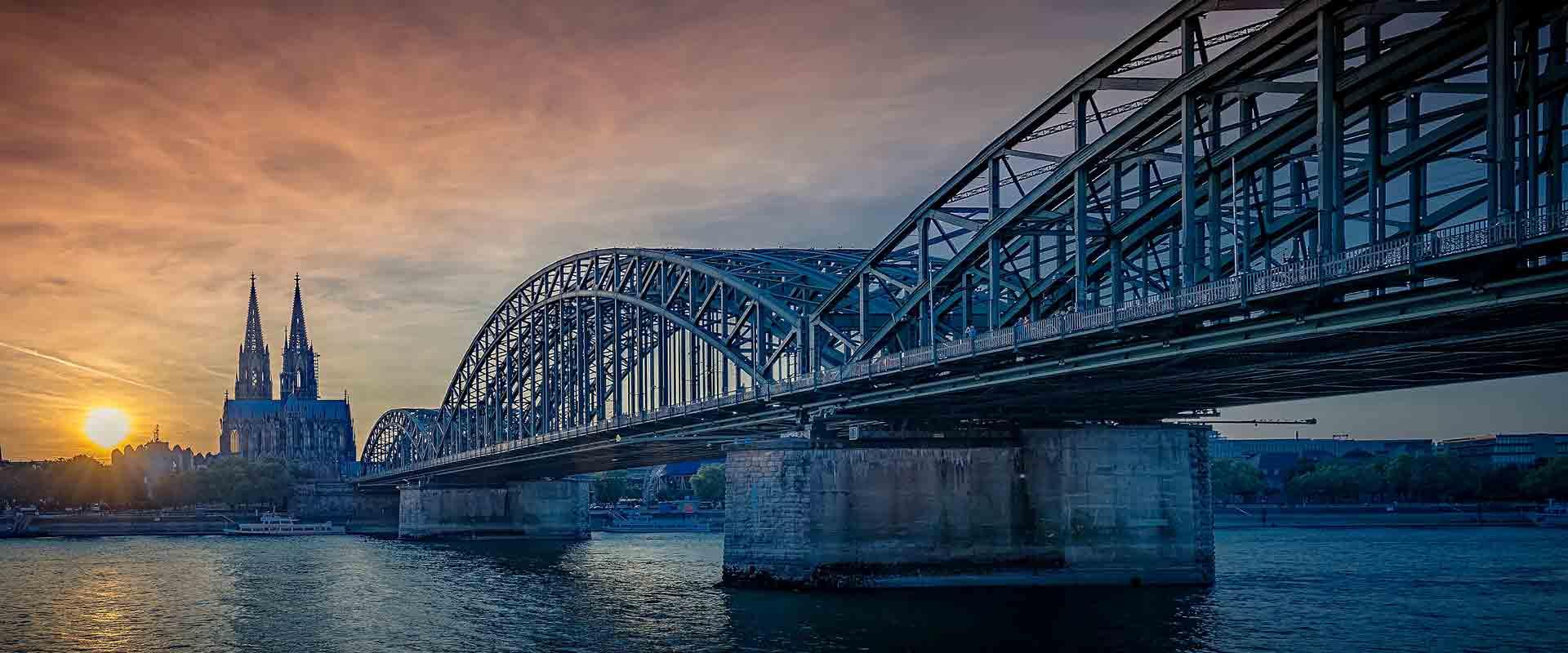 Trem de Colônia para Frankfurt