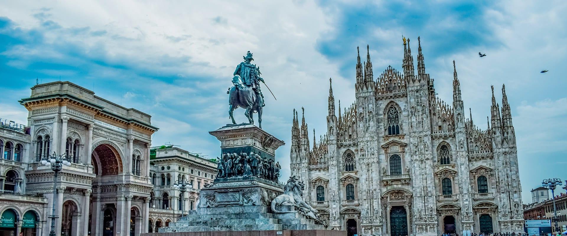 Trem de Milão para Roma