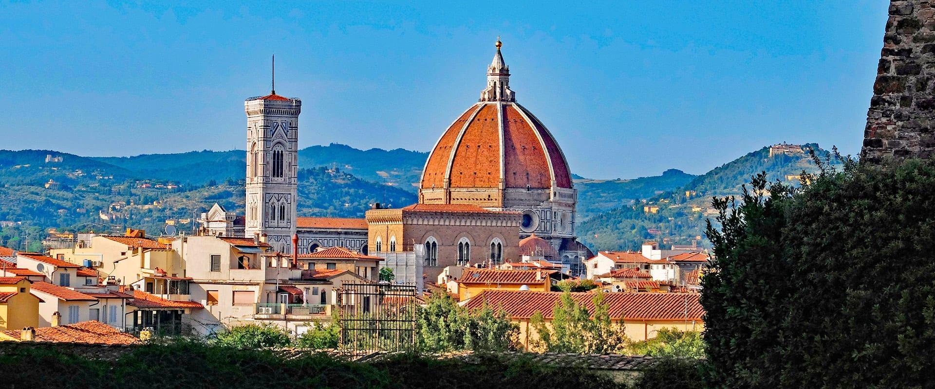 Trem de Florença para Veneza