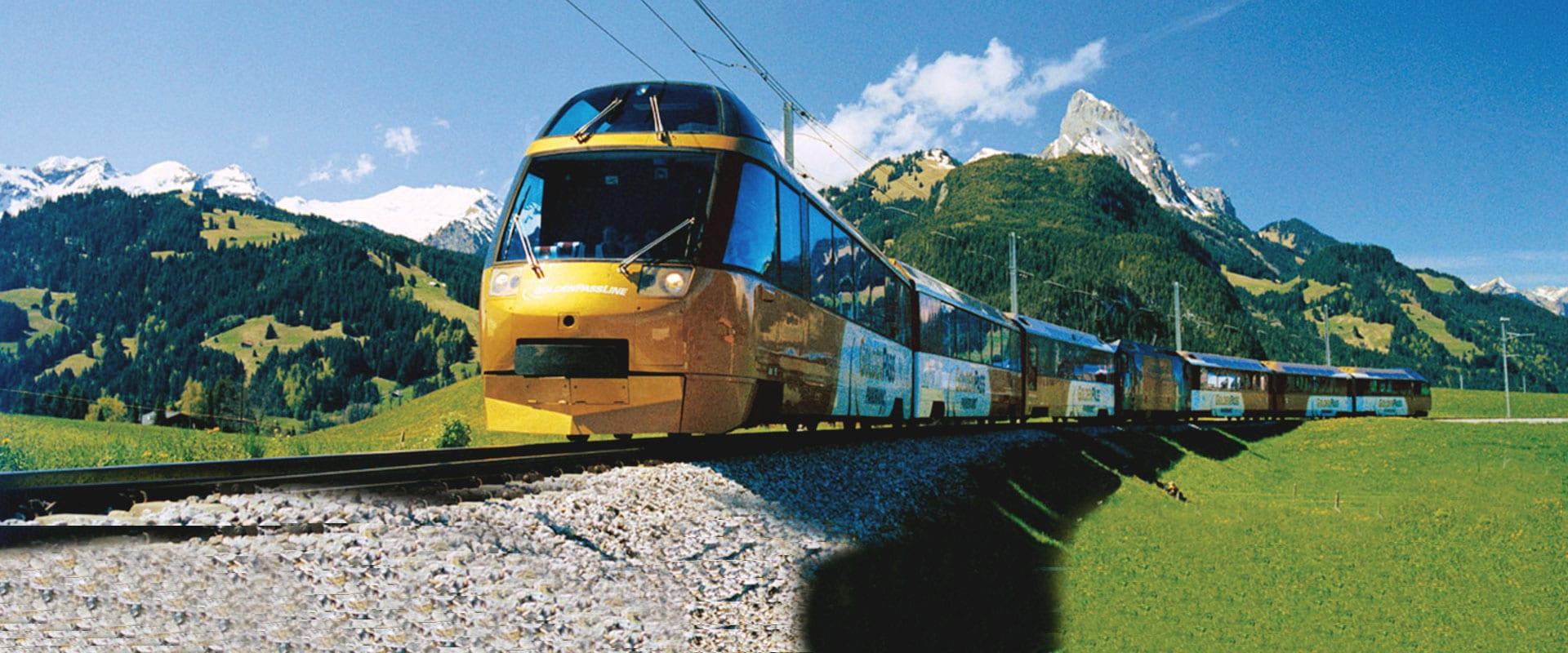 Trem de Interlaken para Lucerna