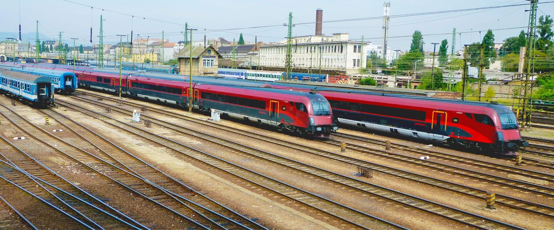Trem de Salzburgo para Munique