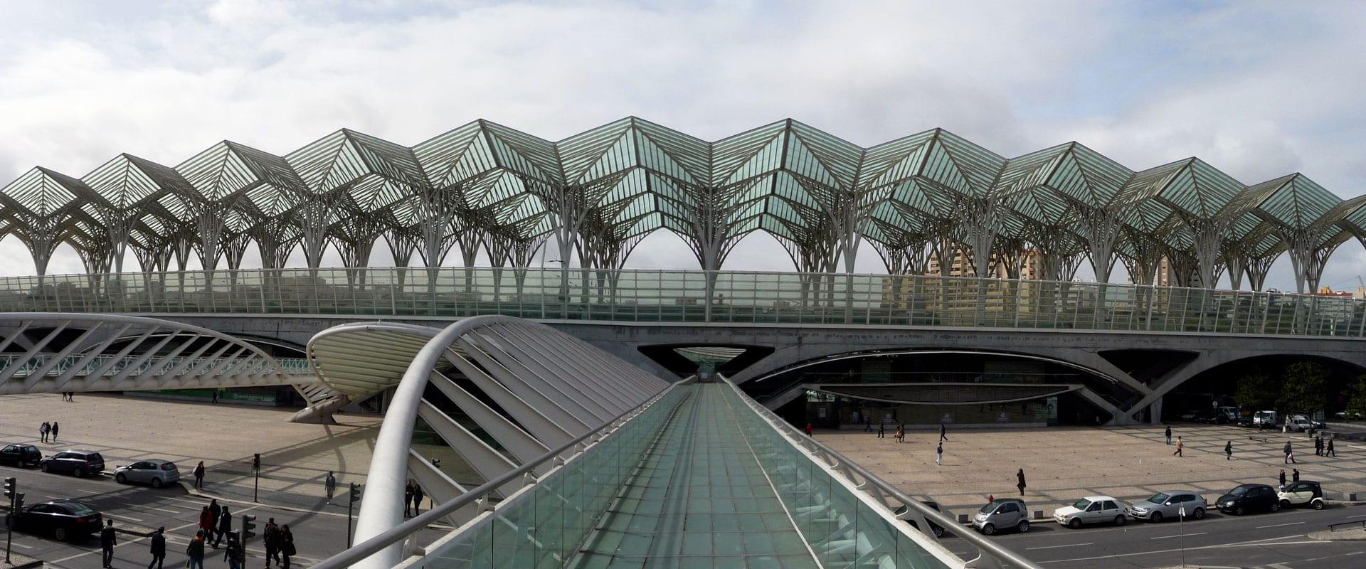 Trem de Madri para Lisboa