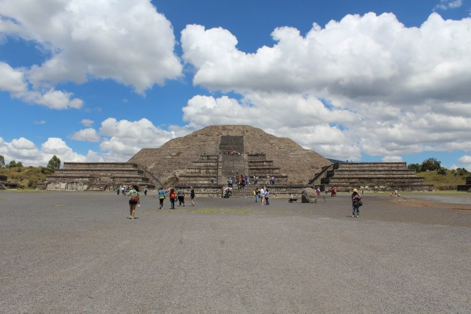 The Pyramid of the Moon (Teotihuacán)